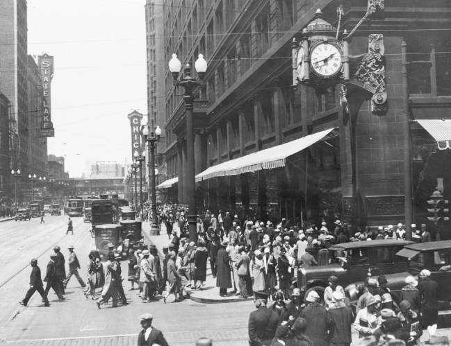 PHOTO – CHICAGO – STATE STREET – MARSHALL FIELD'S – SOUTH END ...
